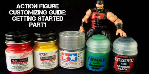 Action Figure Customizing Guide: Getting Started Part 1 (1/6)