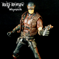 Steampunk Red Robin
