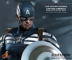 Marvel Captain America - Stealth S.T.R.I.K.E. Suit Marvel Sixth Scale Figure