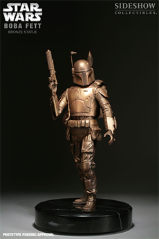 Star Wars Boba Fett Star Wars Bronze Statue