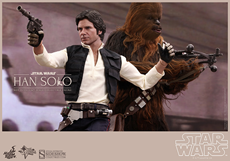 Han Solo and Chewbacca 6th scale figure set