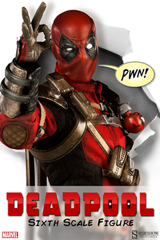 Deadpool 6th scale figure