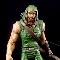 Green Arrow Island Suit (Stephen Amell CW Arrow)