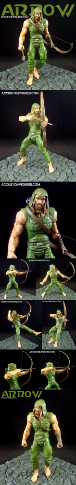 Green Arrow Island Suit (Stephen Amell CW Arrow) (2/2)