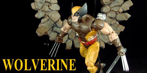 Wolverine (Brown Costume) | AC Custom Figures