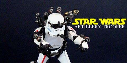 Artillery Trooper (6″ Star Wars Black Series) | AC Custom
