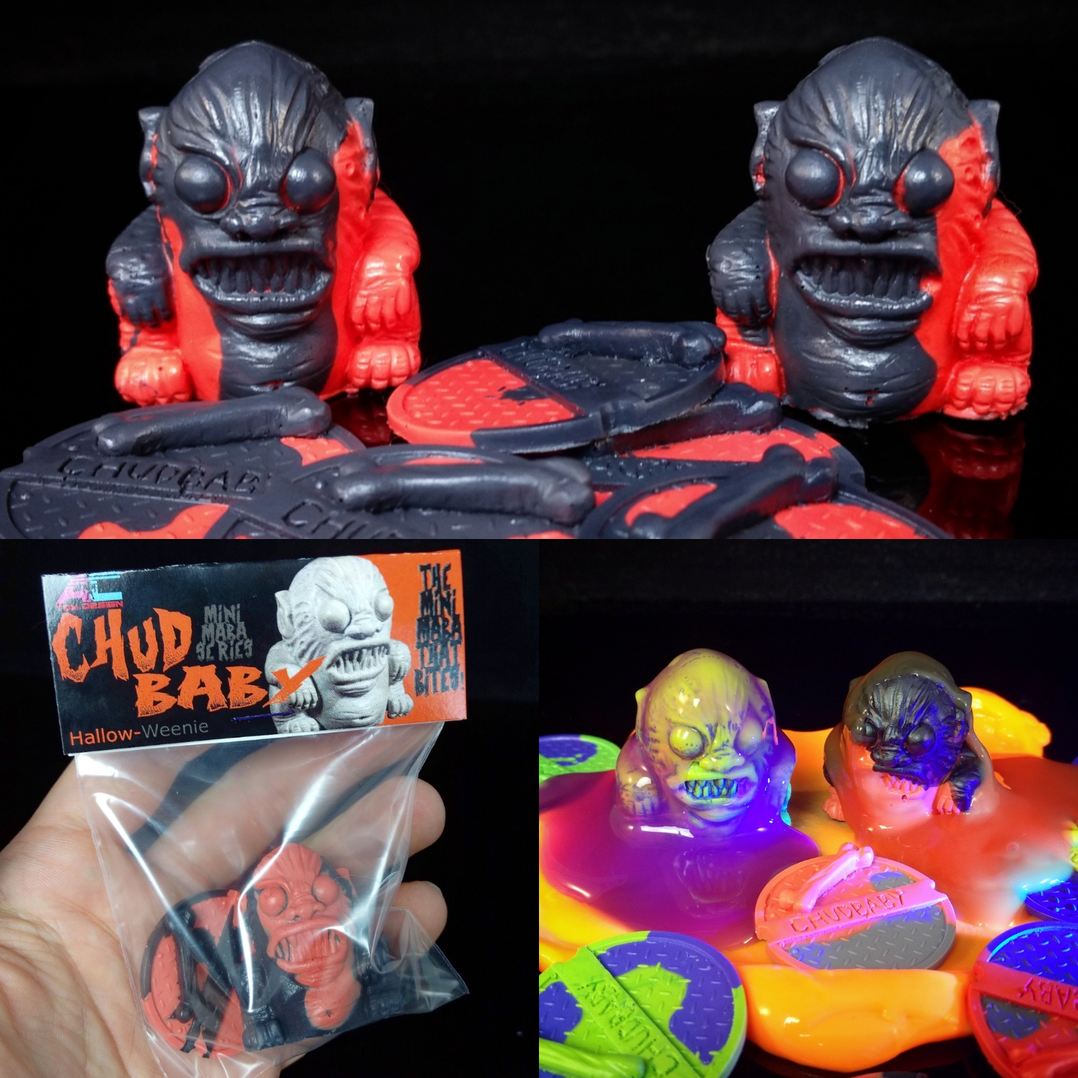 Chudbaby Resin Figure