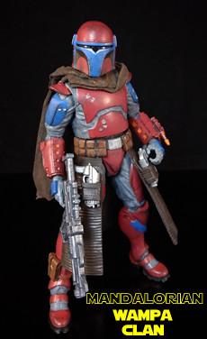 Mandalorian Custom Figure
